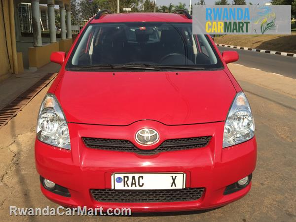 used toyota mpv 2007 2007 toyota corolla verso europe rwanda carmart. Black Bedroom Furniture Sets. Home Design Ideas